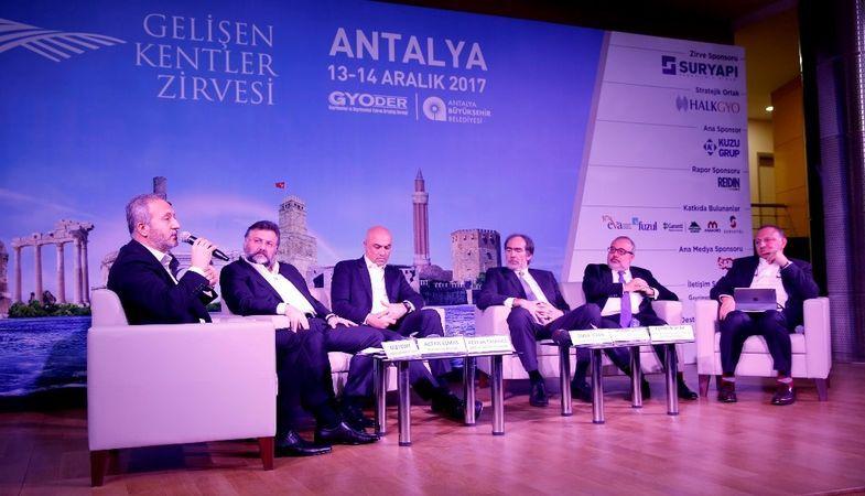GYODER Gelişen Kentler Zirvesi Antalya'da düzenleniyor