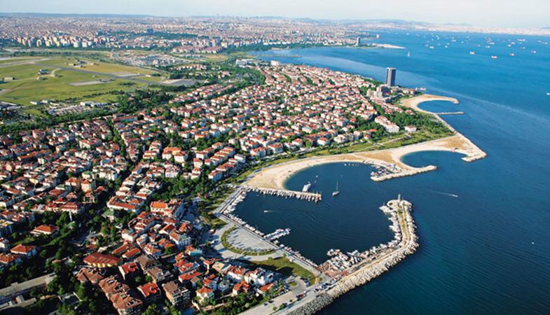 İBB Yeşilköy Sahil Bandı Düzenleme İnşaatı ihalesini iptal etti