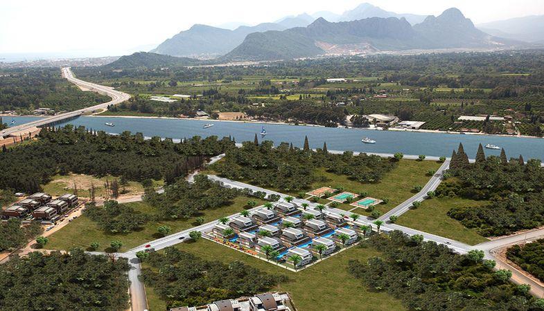 Marina Premium Villas projesinde ayrıcalıklı yaşam 2018'de başlıyor