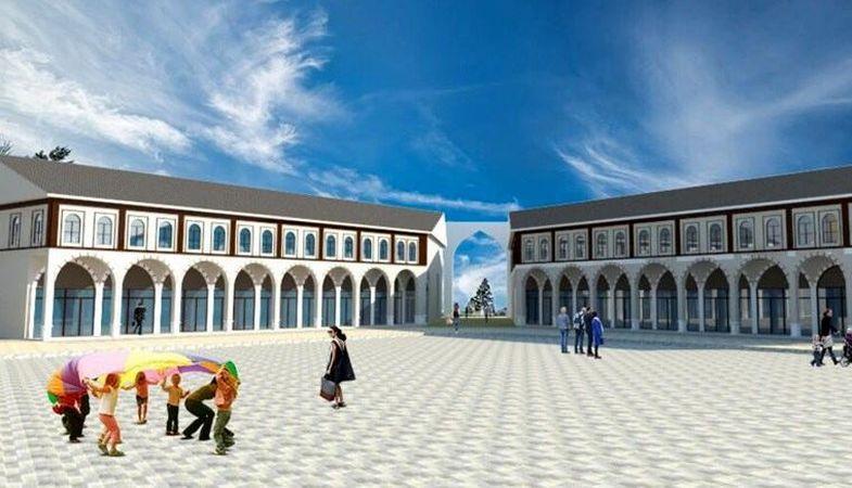 Van Gürpınar'da 'Merkez Dükkanlar Projesi'nin yüzde 85'i hazır