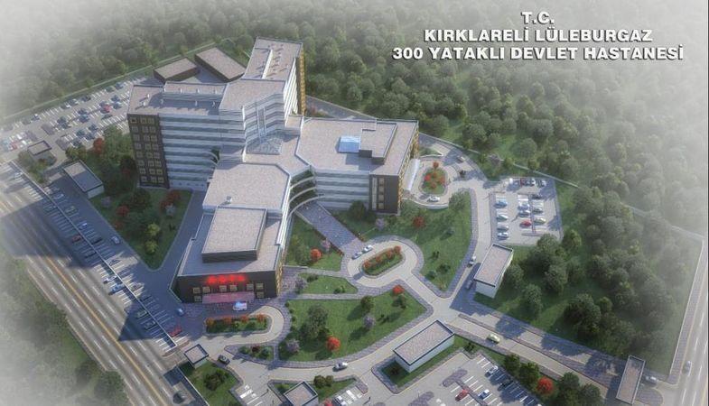 Yeni Lüleburgaz Devlet Hastanesi Ağustos'ta hizmet verecek