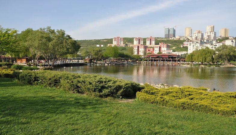 Bahçeşehir gölet alanının imar planı askıda