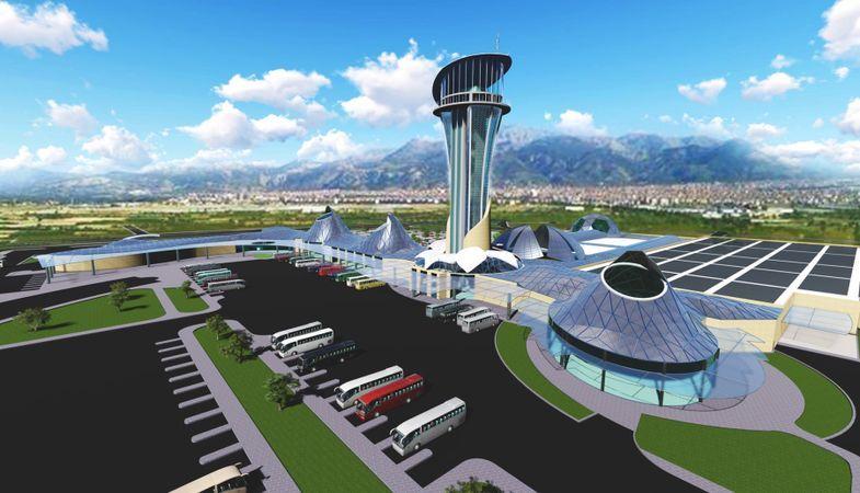 'Isparta Şehirlerarası Terminali inşaatında çalışmalar devam ediyor'