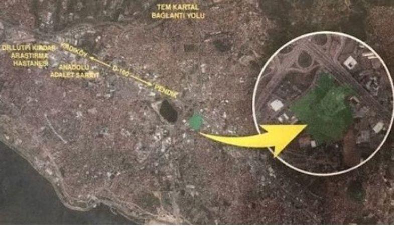İstanbul Kartal'da 74 bin metrekarelik arsa satılacak