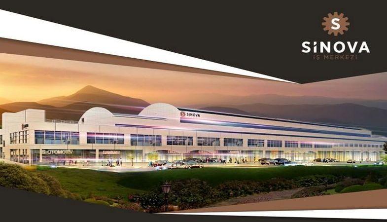 Sinova İş Merkezi'ndeki birimler 270 bin TL'den satılıyor