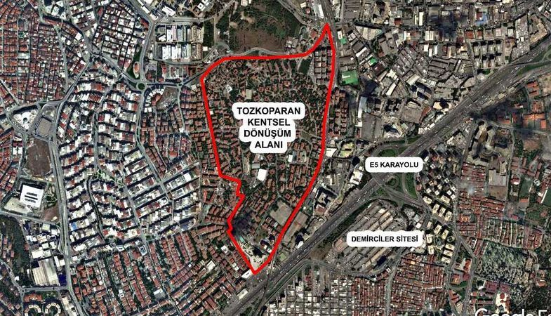 TOKİ, Güngören Tozkoparan'da kentsel dönüşüme başlıyor