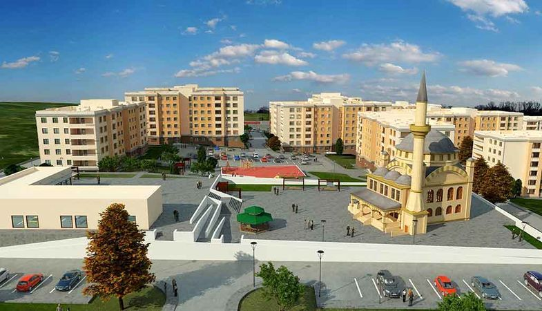 TOKİ'den Şanlıurfa Maşuk'ta satılık 106 iş yeri
