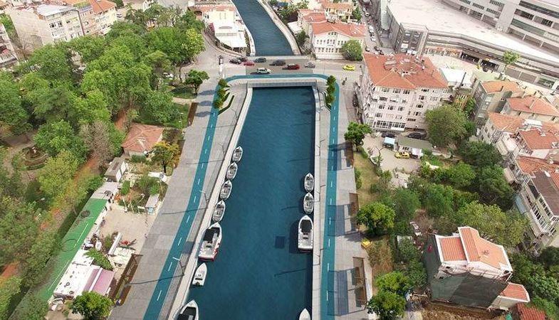 Kurbağalıdere Köprüsü iki şeritte trafiğe açıldı