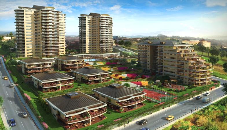 Nu Teras Evleri 600 bin TL'den satışta