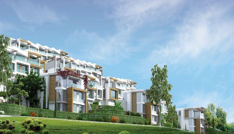 Solemar Adabükü projesi villa yaşamı sunuyor
