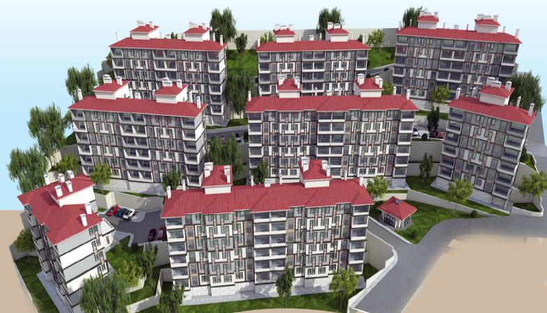 TOKİ Dursunbey'de 160 konut inşa edilecek
