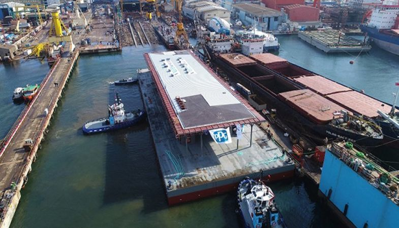 Karaköy Yüzer İskelesi yakında açılacak
