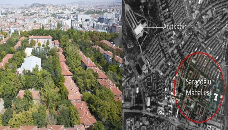 Saraçoğlu Mahallesi'nin Emlak Konut'a devri durduruldu