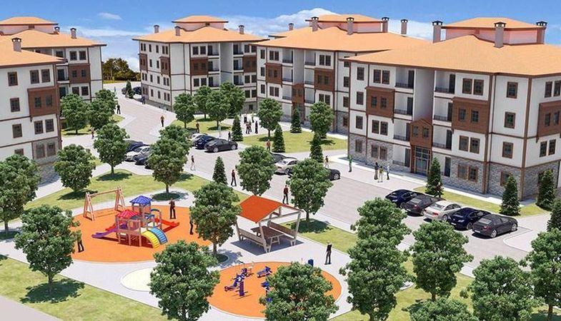 TOKİ Mudurnu'da 126 konut inşa edecek