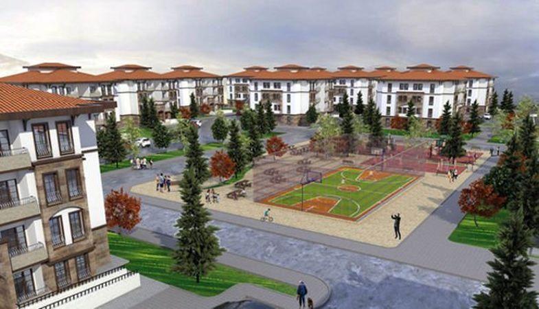 TOKİ Tunceli Aktuluk'ta 206 konut yapacak