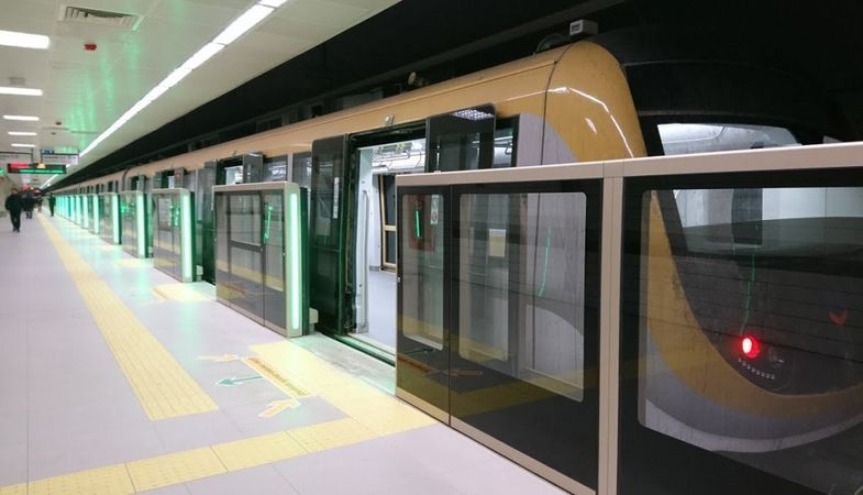 Gayrettepe-3. Havalimanı metro hattında çalışmalar sürüyor