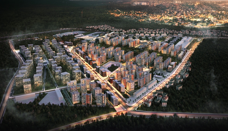 Sur Yapı Antalya projesindeki Sur Cadde etabı ön satış döneminde