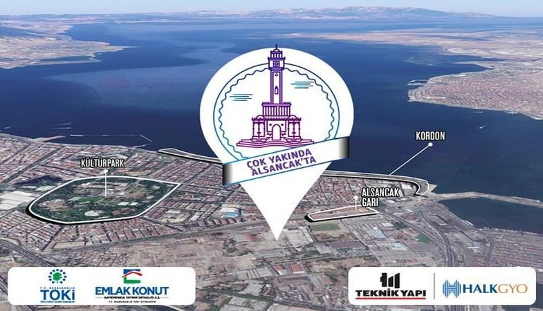 Teknik Yapı İzmir projesi Alsancak'ta doğuyor