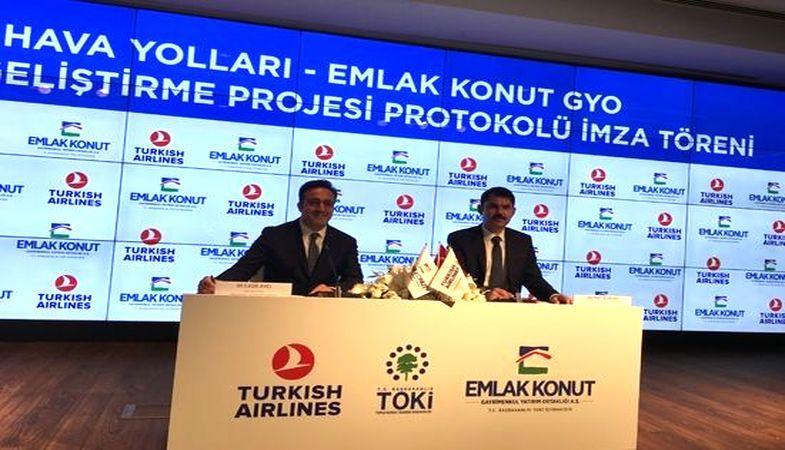 Emlak Konut ve THY 3. Havalimanı bölgesinde konut geliştirecek