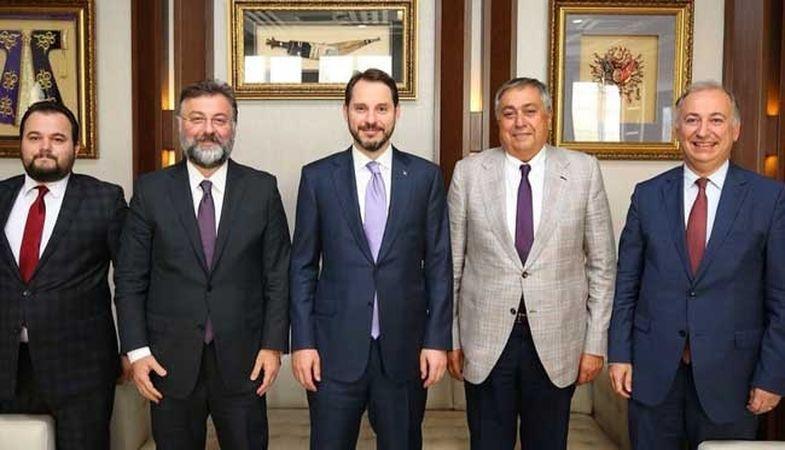 Sektör temsilcileri Bakan Albayrak'ı ziyaret etti