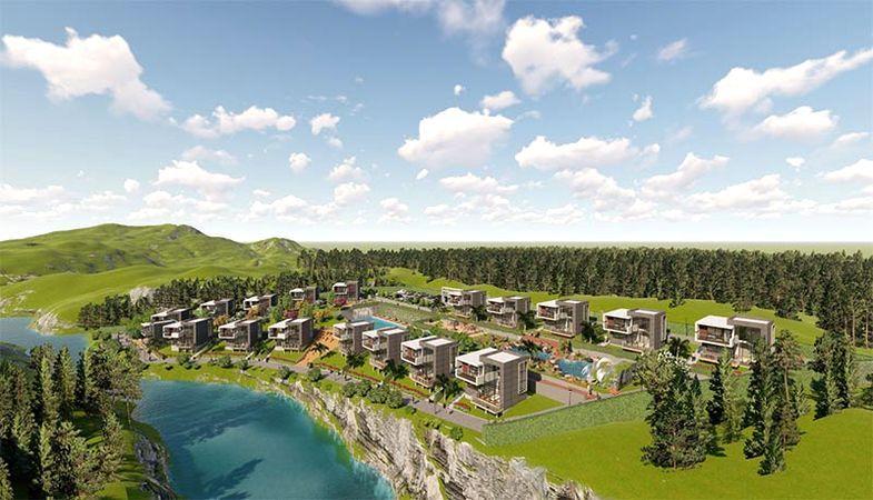 Slow Life Erguvan Villas'ta fiyatlar 600 bin liradan başlıyor