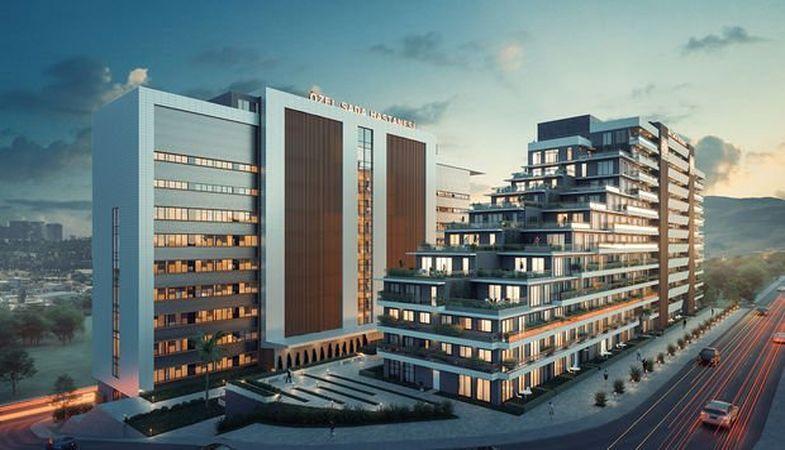 Yamaç Sağlık Rezidans projesi farklı konsept yapısıyla İzmir'de kuruluyor