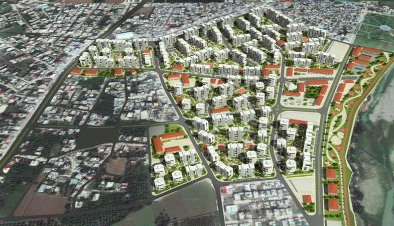 Adana'nın en büyük kentsel dönüşüm projesinde çalışmalar başladı