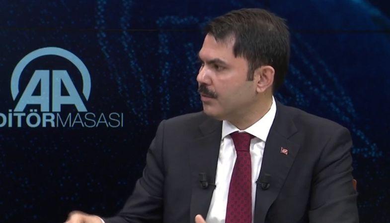 Çevre ve Şehircilik Bakanı'ndan kentsel dönüşüm açıklaması
