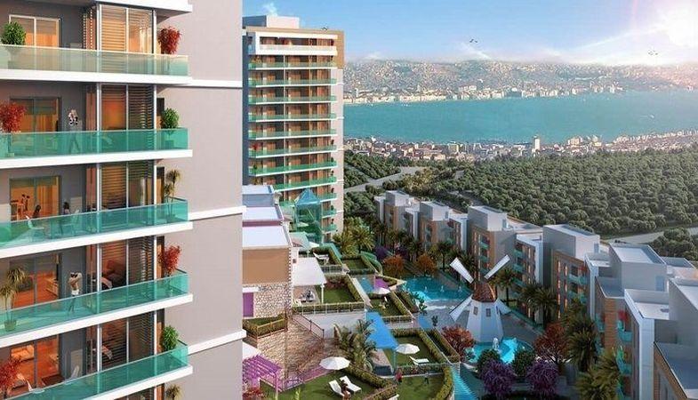 Park Yaşam Santorini projesinde çalışmalar sürüyor