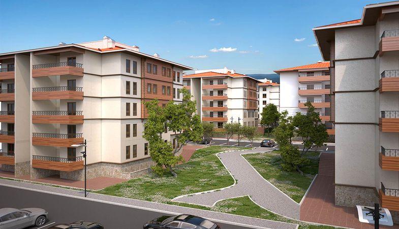 TOKİ Aydın'da 206 yeni konut inşa edecek