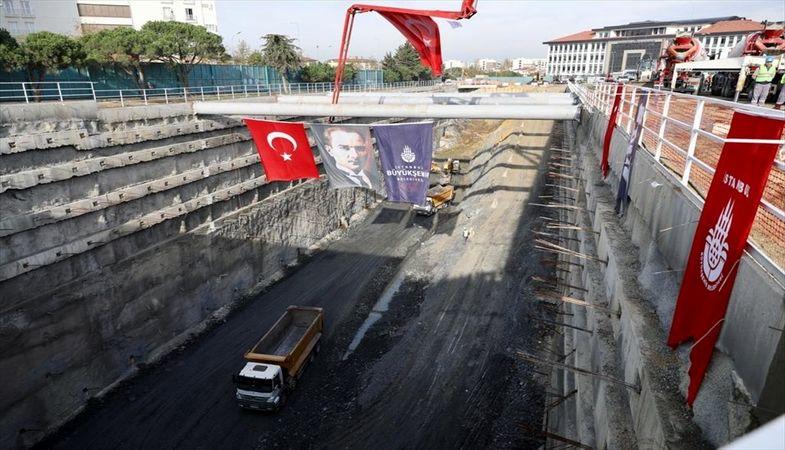İstanbul'da bir metro hattında daha çalışmalar yeniden başladı