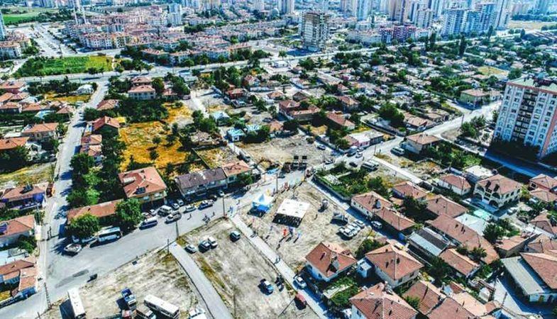 Kocasinan Kentsel Dönüşüm Projesi'nde kaba inşaat tamamlandı