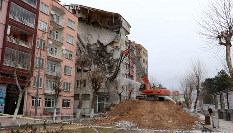 222 bin binada hasar tespit çalışması yapıldı