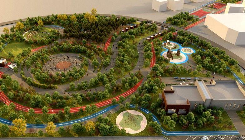 Ankara Çubuk Millet Bahçesi projesinin ihalesi yapıldı