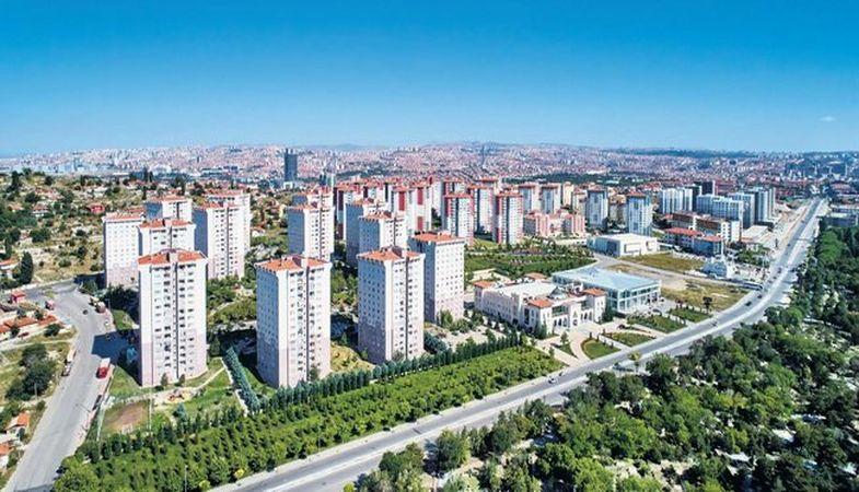 Ankara'da kentsel dönüşüm Altındağ ilçesinde yoğunlaştı