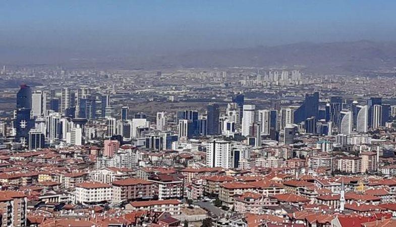 Ankara'da konut satışları yüzde 183 arttı