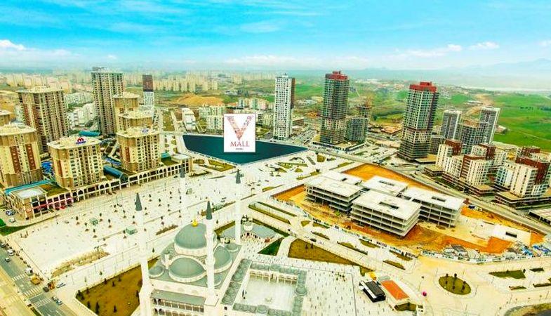 V Mall Yaşam Merkezi projesi Başakşehir'de kuruluyor