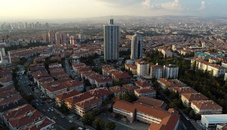 Ankara'da Şubat ayında 7 bin 757 konut satıldı