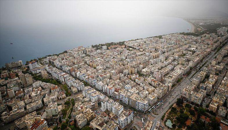 Antalya'da konut satışları yüzde 41 düştü