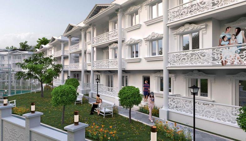 Country Palace projesi Karasu'da lüks yaşam sunuyor