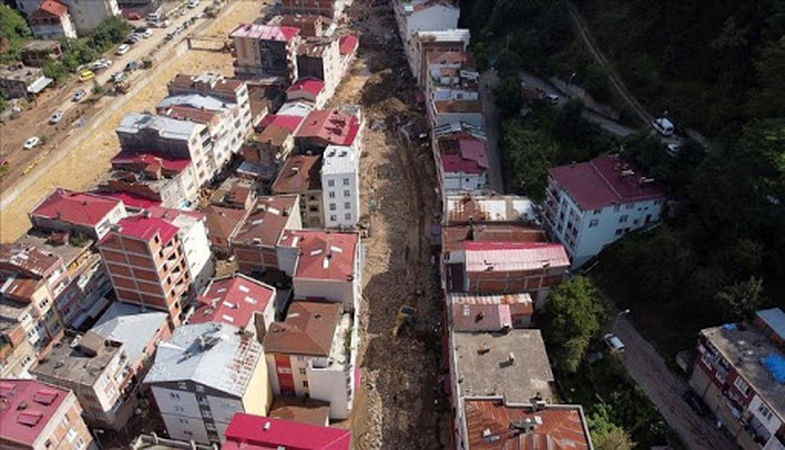 Doğankent'te yıkımlar başlıyor