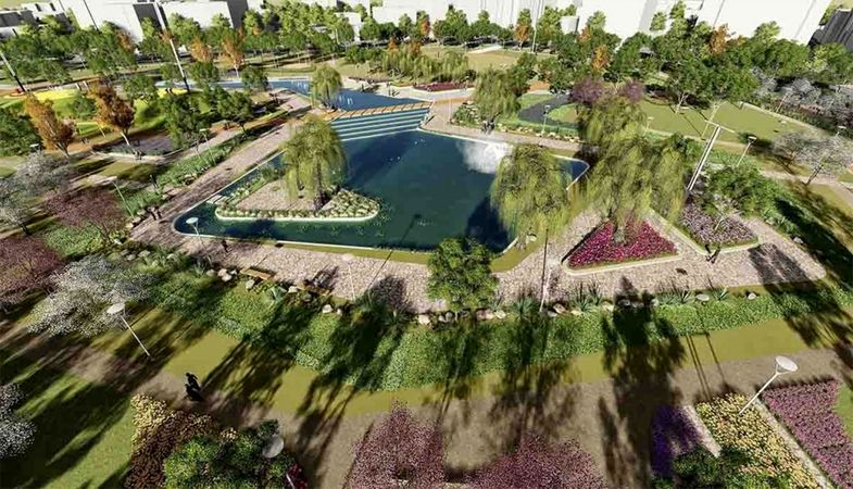 Düzce'de millet bahçesi hizmete açılıyor