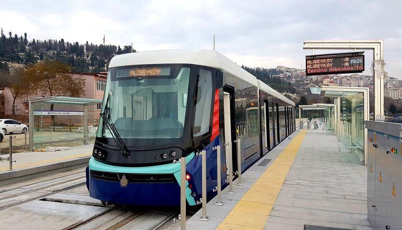 Eminönü-Alibeyköy Tramvay Hattı hizmete açıldı