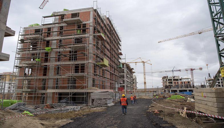 KİPTAŞ Silivri 4. Etap Konutları'nda inşaat sürüyor