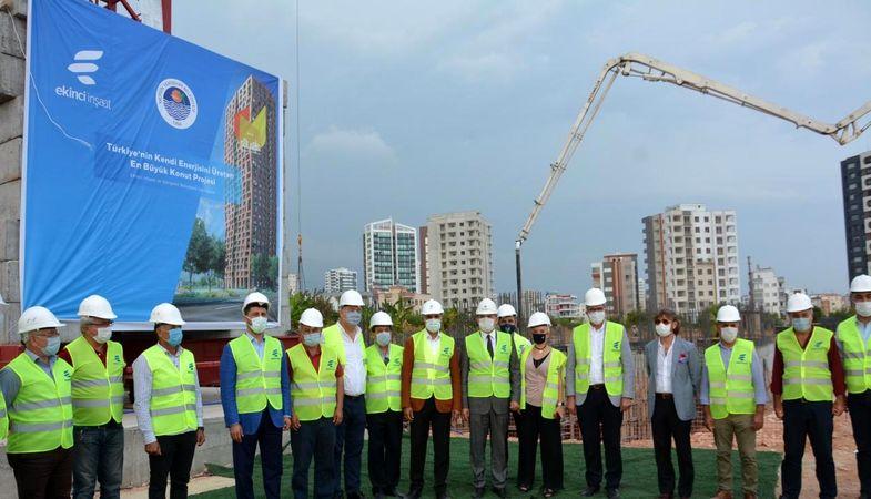 Mersin'de kendi enerjisini üretecek konut projesi inşa ediliyor