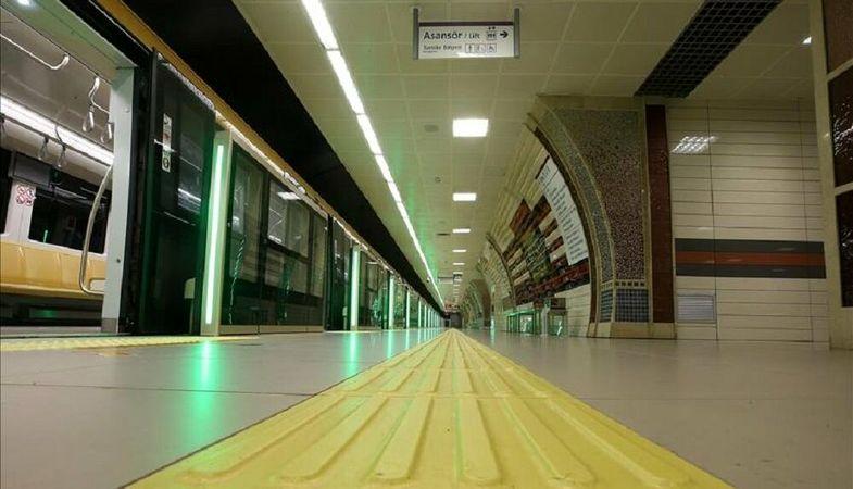 Sabiha Gökçen Havalimanı metrosunda ilk ray kaynağı yapıldı