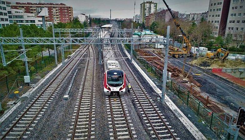 Bahçeşehir-Halkalı arasında tren hattı açılıyor