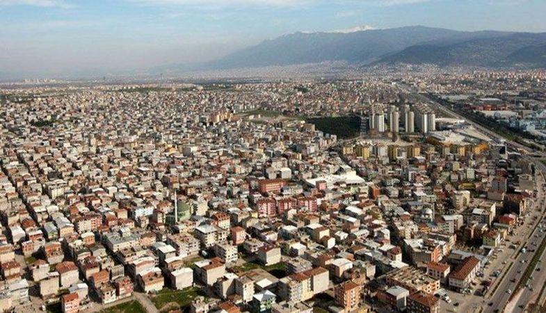 Bursa'da konut ve arsa fiyatları artış gösterdi
