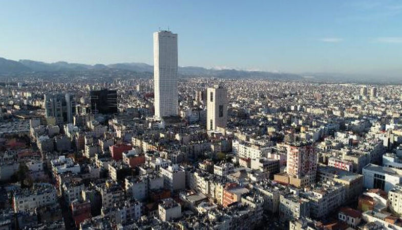 Mersin'de yılın ilk çeyreğinde 7 bin 750 konut satıldı