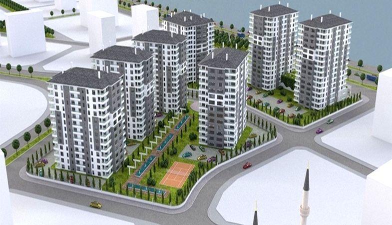 Başakşehir Projesi Ankara Yenibatı'da Yükseliyor